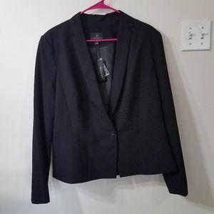 Worthington Black Blazer Jacket 1x New